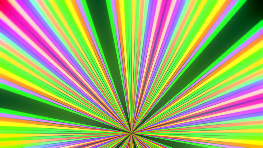 A rainbow colored digital wall for concert background ( Series 3 + Version from 1 to 8 ) - HD stock video clip
