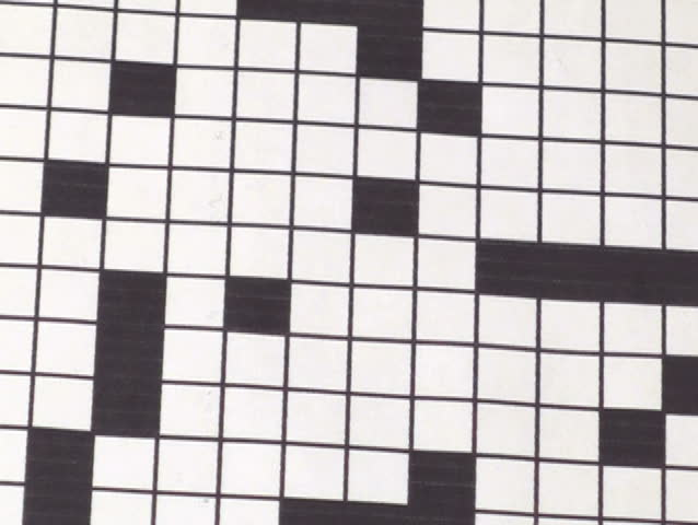 Risk Profit Crossword Puzzle - Ntsc Stock Footage Video 751780