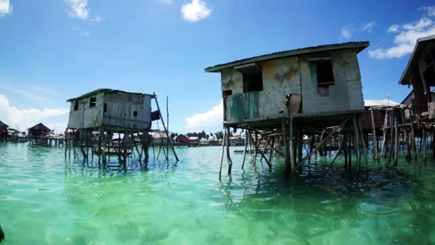 OMADAL ISLAND SABAH MALAYSIA JUNE 6 Architecture Of