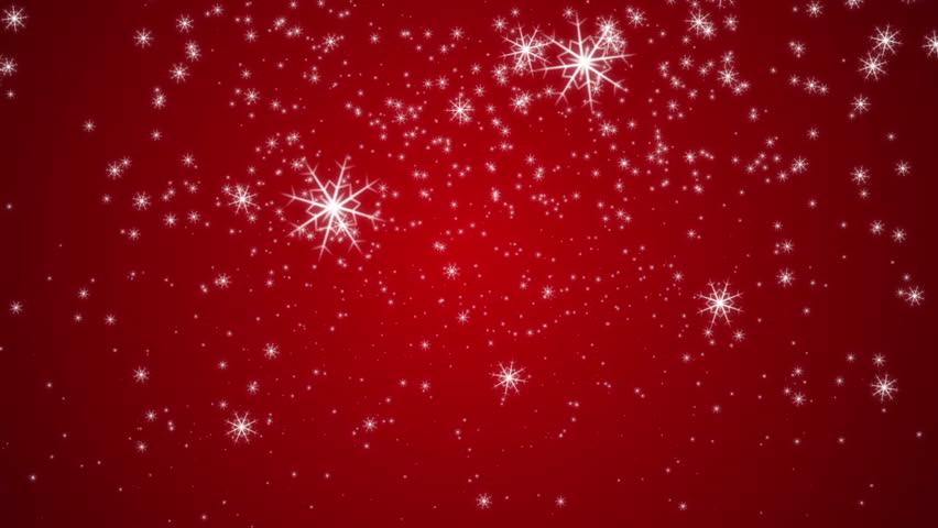 <b>Red</b> Christmas <b>Snowflake Background</b> - WeLoveSoLo