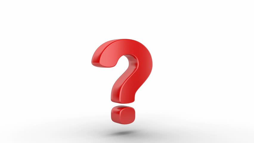 Question Mark Stock Footage Video - Shutterstock