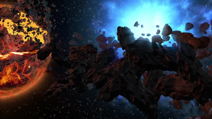 asteroid field hd - photo #38