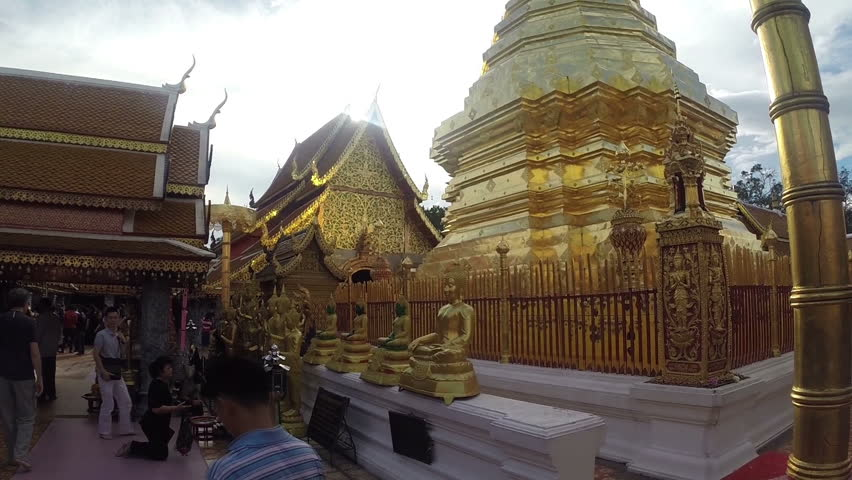 Wat Phra That Doi Suthep, Chiang Mai, Thailand.