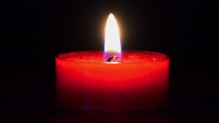 Red Candle Burning Stock Footage Video 4654808 - Shutterstock