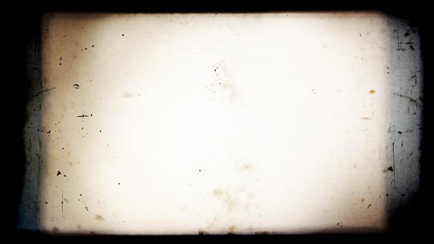 Vintage Retro Film Blinking Frame. - HD stock video clip