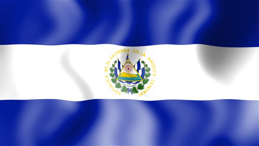 El Salvador 3D Flag - HD Loop Stock Footage Video 1257409 ...