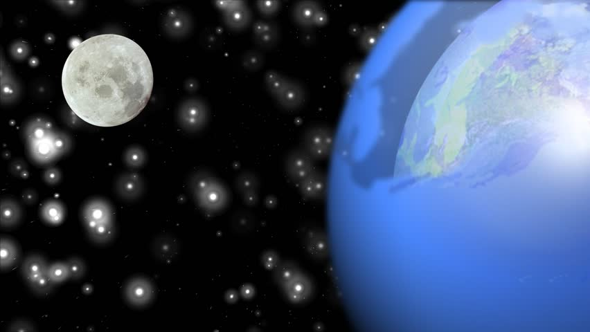 Planet Earth And Moon. Image Moon Has Been Found Thanks To ...