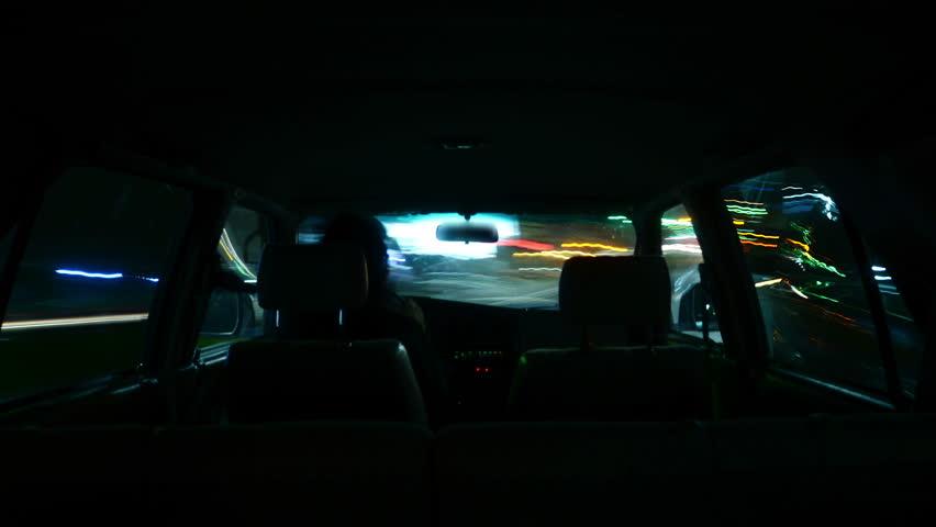 Driving Hyperlapse Inside 04 Los Angeles Cityscape   Shutterstock HD Video #8270677