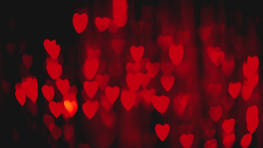 Pics Photos - Red St Valentine Hearts Abstract Bright Vector Stock