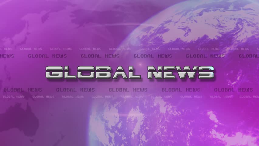 4K High Res bumper animation of Global News.