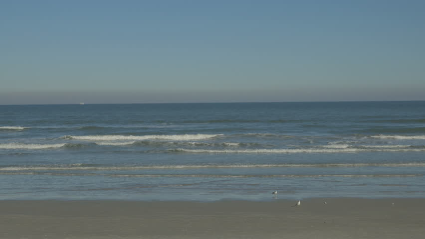 Daytona beach florida december 14 view overlooking the for Warmest florida beaches in december