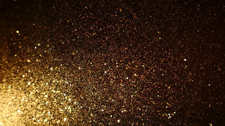 Gold confetti background | Shutterstock HD Video #8361748