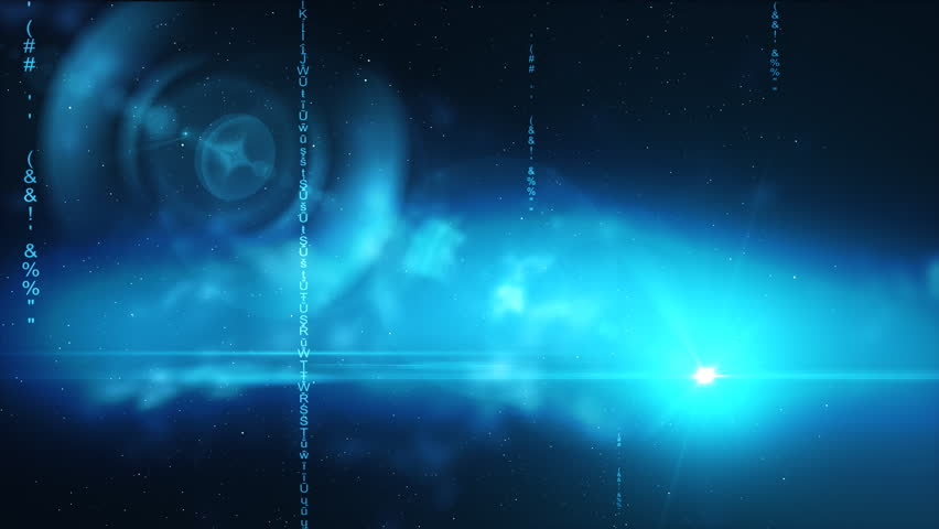 Space With Particular Cube Stock Footage Video 839299