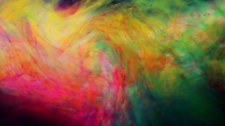 Inks in water the color abstraction | Shutterstock HD Video #8395660