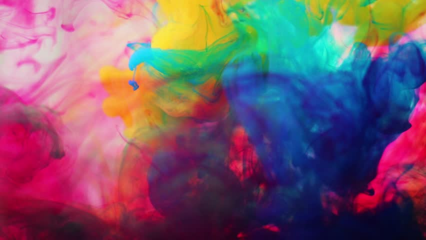 Inks in water the color abstraction | Shutterstock HD Video #8395669