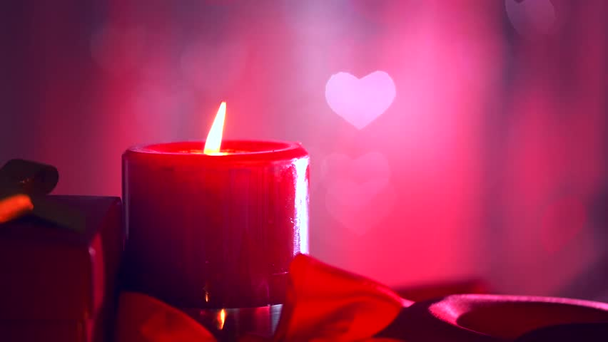 Image result for candles with hearts images