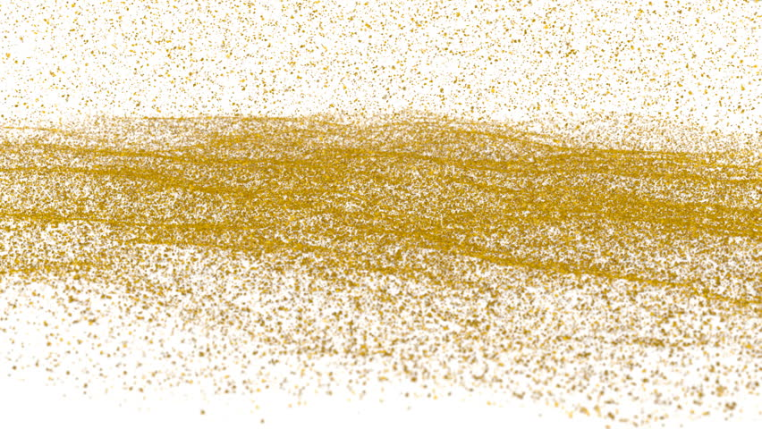 Gold Flake Wall Paint