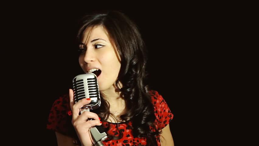 singing the girl retro - photo #45