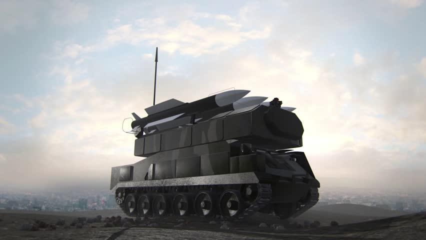 BUK-M2 Missile Launch