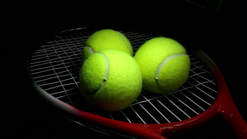 Tennis Ball 3 Stock Footage Video 2066441 Shutterstock