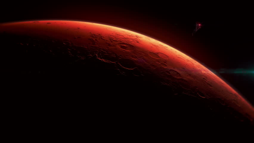 manned mission to mars 3d art - photo #22