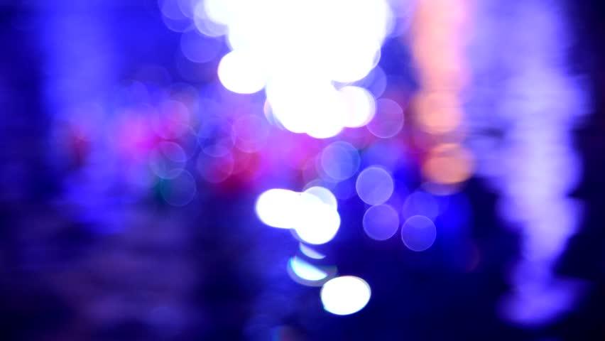 Floating Balls on water in swimming pool  night scene | Shutterstock HD Video #8701525