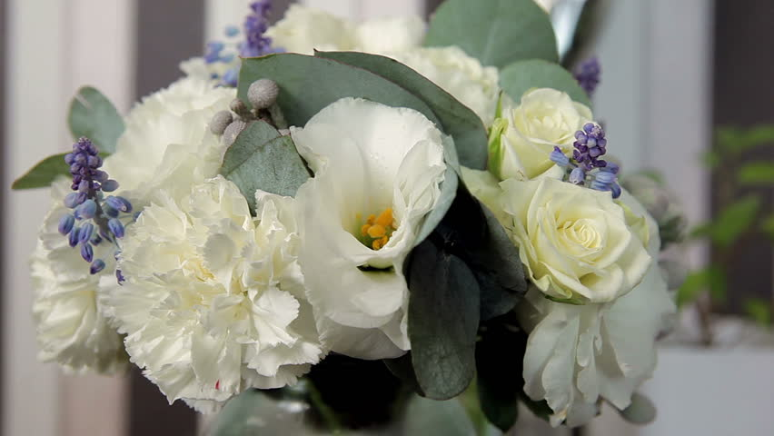 Wedding bouquet in all its glory | Shutterstock HD Video #8804215