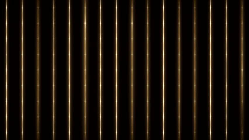 vertical orange gold lines on black seamless loop
