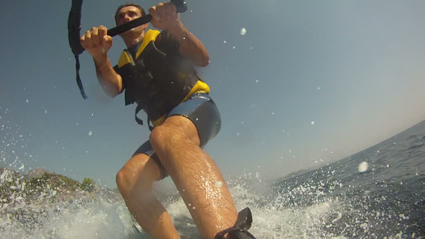 Water Skiing - HD stock video clip