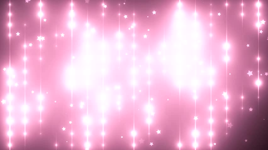 Floodlights Disco Background With Particles Pink Creative