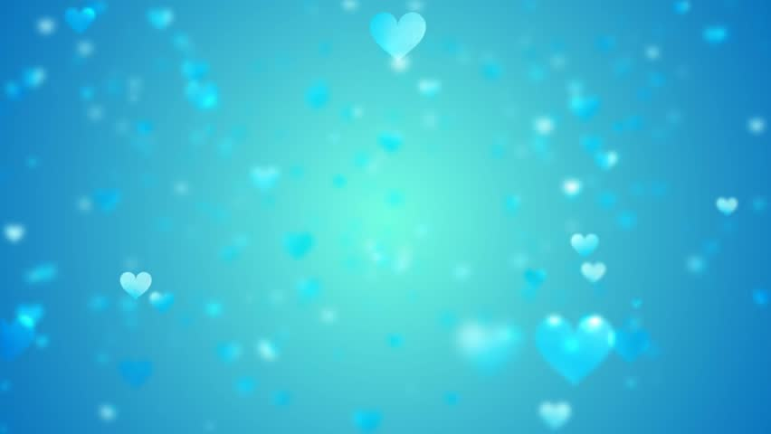 light blue heart background - photo #13