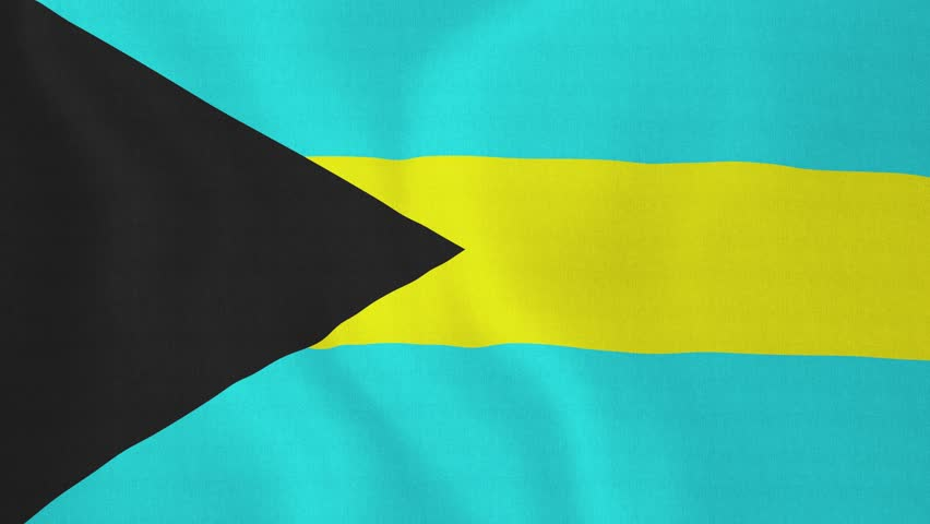 Flag Of Bahamas Stock Footage Video 3686261 Shutterstock