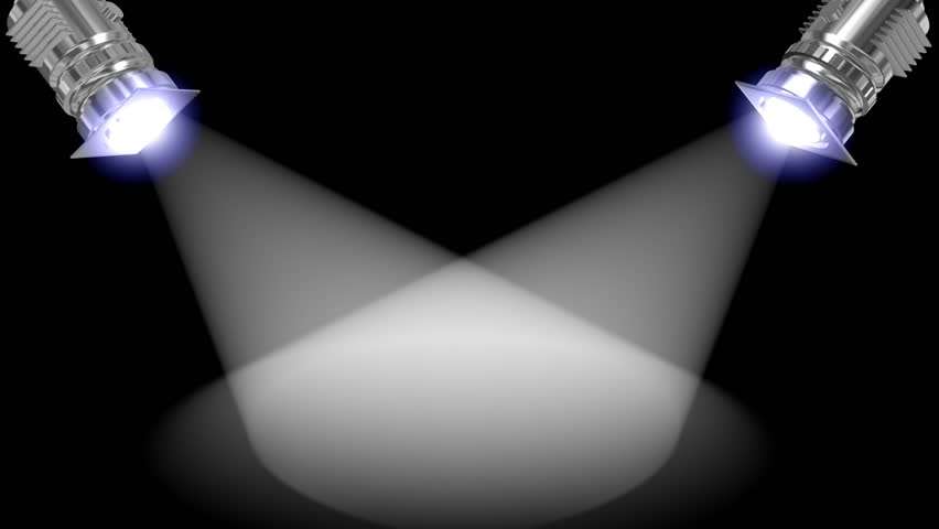 Animated white reflectors,add your product in the middle,seamless loop