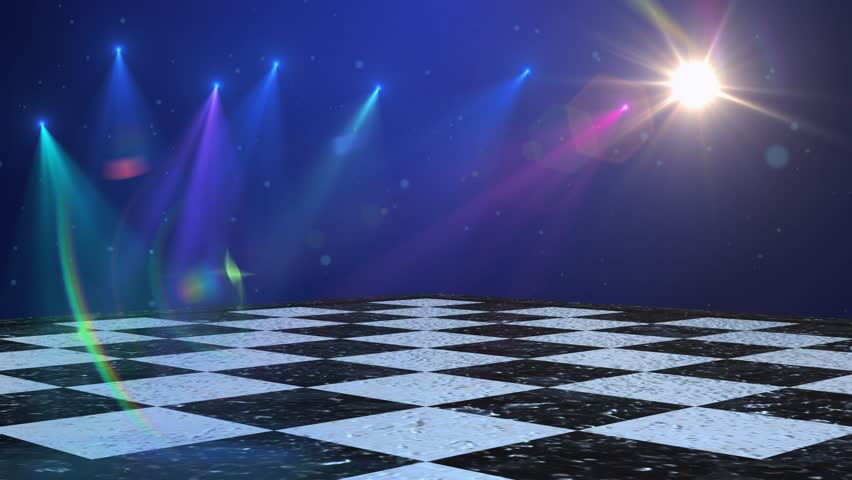 Virtual studio disco dance floor background for use with for 1234 get on the dance floor songs download