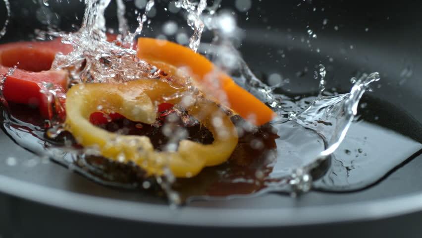 Image result for hot oil splash