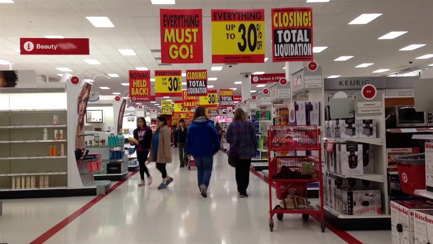 People Shopping At Target