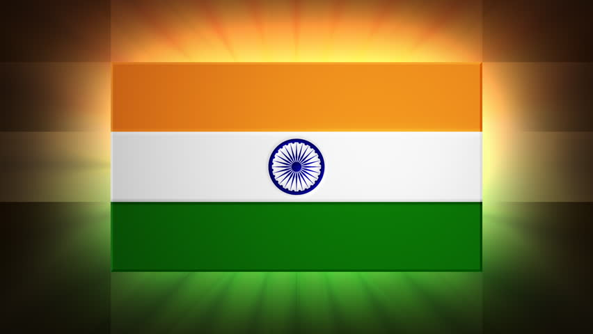 Indian Flag Images Hd720p: HD Loop Stock Footage Video 965425