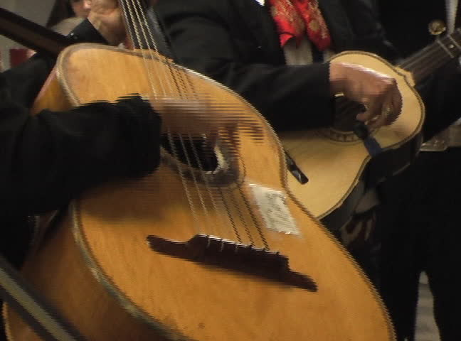 Header of mariachi