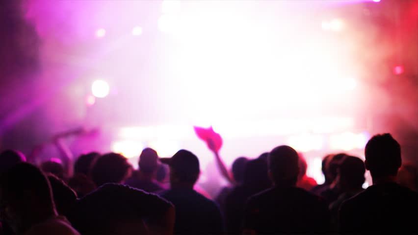 Dancing crowd   Shutterstock HD Video #9029116