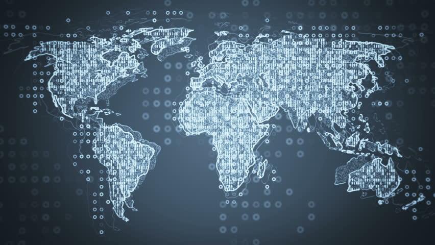 original abstract world map - photo #34