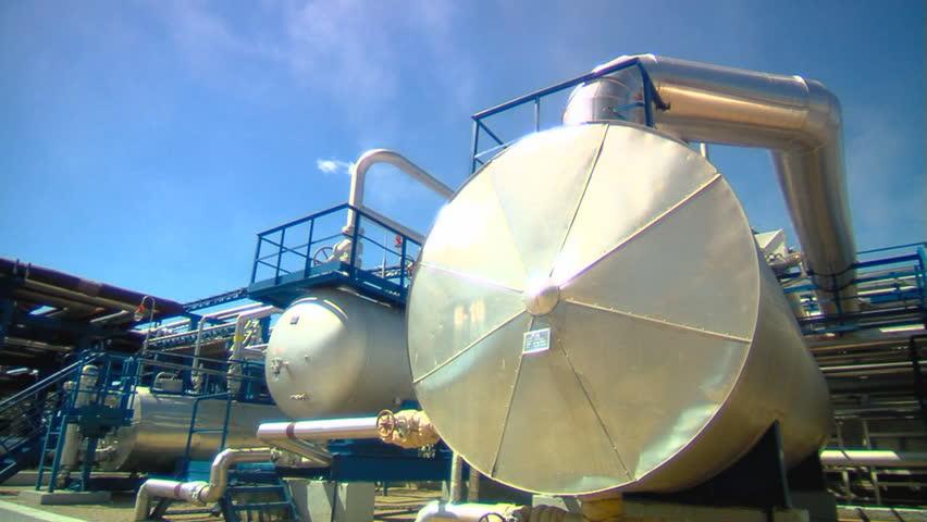 Oil Plant - HD stock video clip