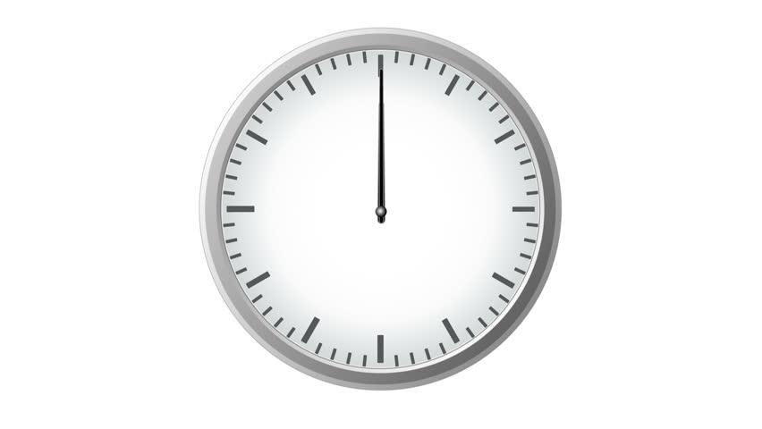 clock with second hand it takes 1 minute sped up stock footage video 501946 shutterstock. Black Bedroom Furniture Sets. Home Design Ideas