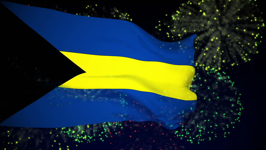 Bahamas Flag Before Independence