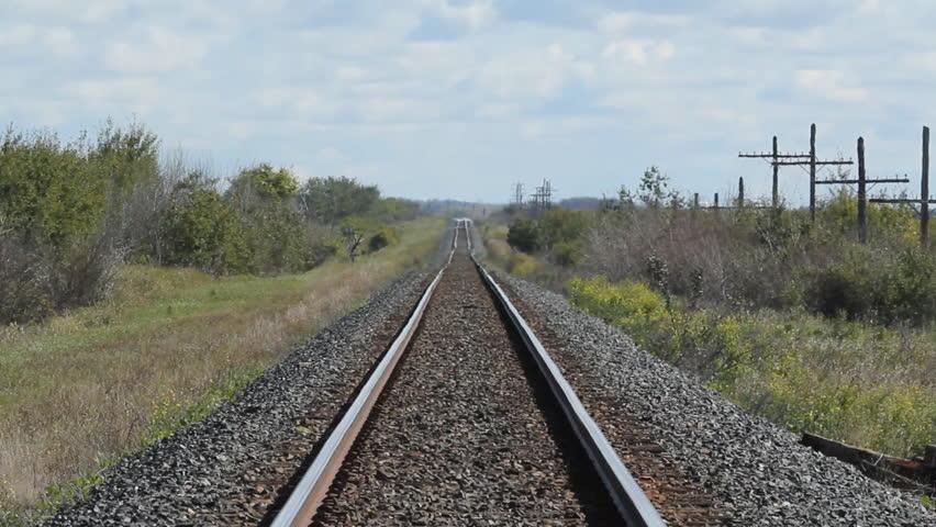 train tracks and orange1 - photo #37