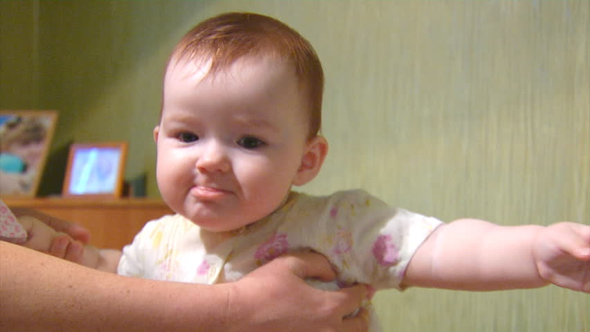 9 Month Old Girl Toys : Beautiful nine month old asian infant baby girl playing