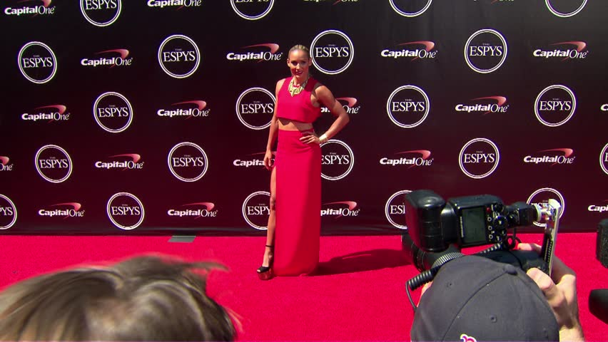Los Angeles, CA - July 16,2014: Lolo Jones at ESPY Awards 2014, Nokia Theatre