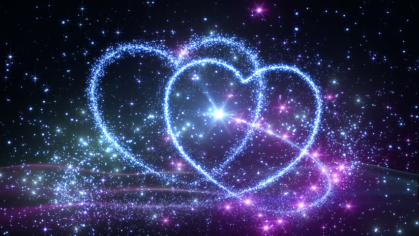 Colorful Sparkling Heart. Stock Footage Video 984637 ...