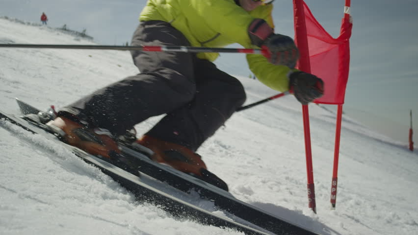 K ski footage page stock clips videos