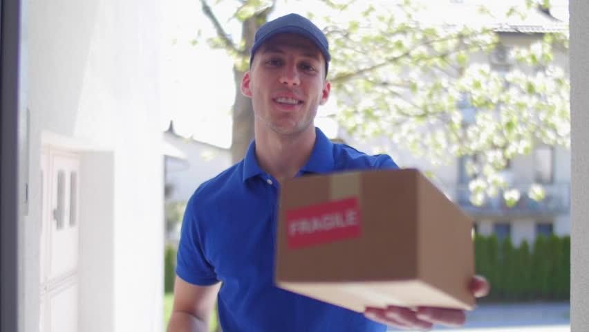 Delivery guy customer POV